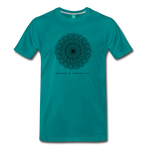 Breathe - Men's Premium T-Shirt - teal
