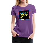 Beautiful Soul - Women's Premium T-Shirt - purple
