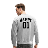 Happy One - Crewneck Sweatshirt - heather gray