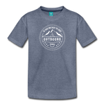 Great Outdoors - Kids' Premium T-Shirt - heather blue