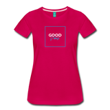 Good Vibes - Women's Premium T-Shirt - dark pink