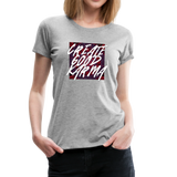 Create Good Karma - Women's Premium T-Shirt - heather gray