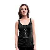 Good Karma Lives - Women's Premium Tank Top - charcoal gray