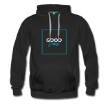 Good Vibes Bright - Men's Premium Hoodie - black