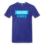 Good Vibes (Cool Blue) - Men's Premium T-Shirt - royal blue