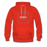 Good Vibes Bright - Men's Premium Hoodie - red