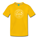 Great Outdoors - Kids' Premium T-Shirt - sun yellow