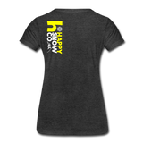 Happy - Women's Premium T-Shirt - charcoal gray