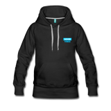 Good Vibes (Cool Blue) - Women's Premium Hoodie - black