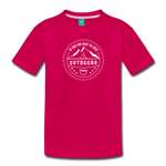 Great Outdoors - Kids' Premium T-Shirt - dark pink