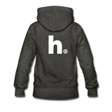 Snow - Women's Premium Hoodie - charcoal gray