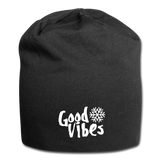 Good Vibes Snow - Jersey Beanie - black