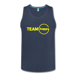 Team Happy - Men's Premium Tank - navy