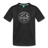 Great Outdoors - Kids' Premium T-Shirt - black