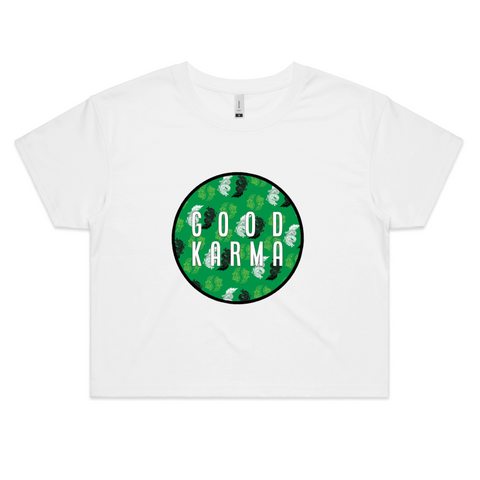 Good Karma (Dragon) - Womens Crop Tee