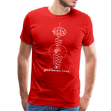 Good Karma Lives - Men's Premium T-Shirt - red