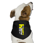 Happy Dog Bandana - black