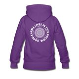 Good Karma - Women's Premium Hoodie - purple