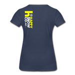 Happy - Women's Premium T-Shirt - navy