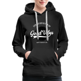 Good Vibes Giver - Women's Premium Hoodie - black