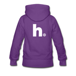Snow - Women's Premium Hoodie - purple