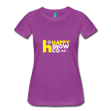 Happy - Women's Premium T-Shirt - light purple