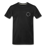 Happy 360 - Men's Premium Organic T-Shirt - black