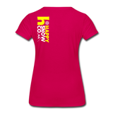 Happy - Women's Premium T-Shirt - dark pink