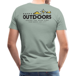 Happy Outdoors - Men's Premium T-Shirt - steel green