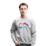 Love & Happiness Forever - Crewneck Sweatshirt - heather gray