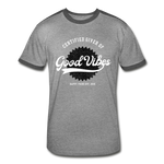 Good Vibes Giver - Men's Retro T-Shirt - heather gray/charcoal