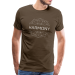 Harmony - Men's Premium T-Shirt - noble brown