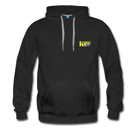 Happy - Men's Premium Hoodie - black
