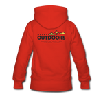 Happy Outdoors - Women's Premium Hoodie - red