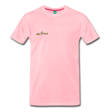 Happy Outdoors - Men's Premium T-Shirt - pink
