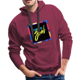 Beautiful Soul - Men's Premium Hoodie - burgundy