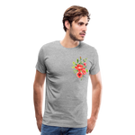 Happy Bloom - Premium T-Shirt - heather gray