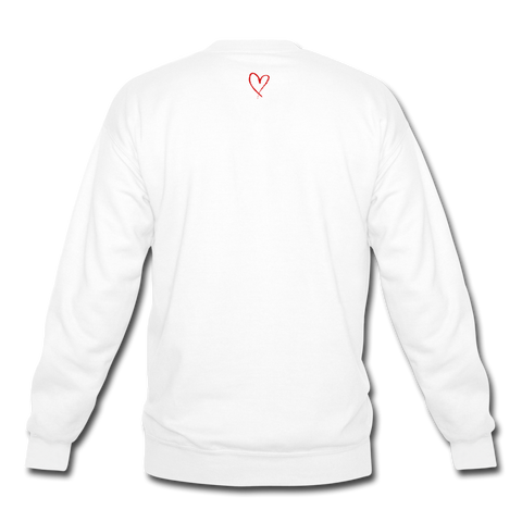 Love Life - Crewneck Sweatshirt - white