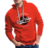 Good Vibes Giver - Men's Premium Hoodie - red