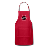 Good Vibes Giver - Adjustable Apron - red