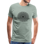 Breathe - Men's Premium T-Shirt - steel green