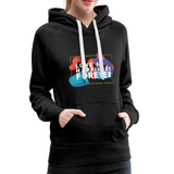 Love & Happiness Forever - Women's Premium Hoodie - charcoal gray
