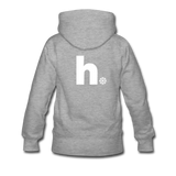 Snow - Women's Premium Hoodie - heather gray