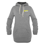 Happy Snow - Women's Hoodie Dress - heather gray