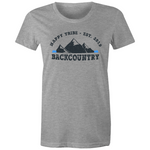 Happy Tribe Backcountry - Womens Crew T-Shirt