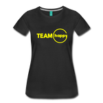 Team Happy - Women's Premium T-Shirt - black