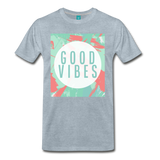 Good Vibes (Summer) - Men's Premium T-Shirt - heather ice blue
