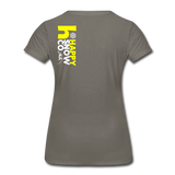 Happy - Women's Premium T-Shirt - asphalt gray