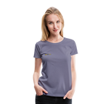 Happy Outdoors - Women's Premium T-Shirt - washed violet