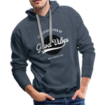 Good Vibes Giver - Men's Premium Hoodie - heather denim